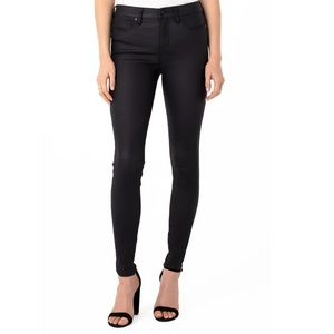 LIVERPOOL JEANS || Abby Coated High Waist Skinny